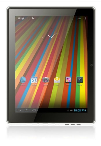 Gemini Duo 9.7-inch Tablet (Blue) – (ARM Cortex A9 1.5GHz Processor, 1GB RAM, 16GB Storage, WiFi, 2x camera, Android 4.1)