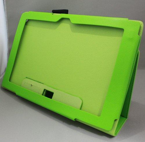 Homu HomuXperia Tablet Z SO-03E全11色PUレザーケース PUレザーカバー エクスペリアタブレットZ レザーケースレザーカバースタンド機能付 ペンホルダー付/SGP312JP (グリーン)(24-5)