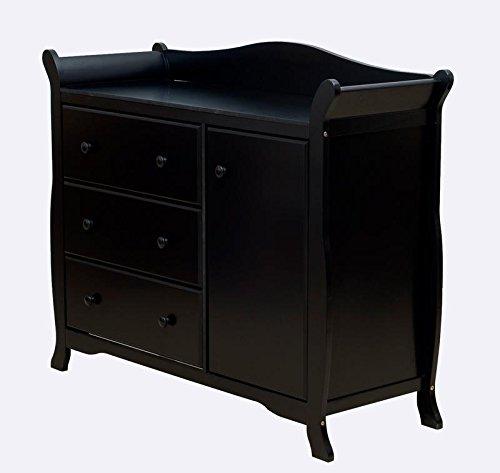 Dream On Me Back Bay Chest Combo, Black (Dream On Me Dresser Espresso compare prices)