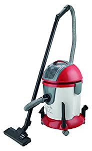 Black & Decker WV1400 1800-Watt Wet and Dry Vacuum Cleaner with Blower (Red and Gray)