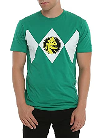 Mighty Morphin Power Rangers Green Ranger Costume T-Shirt Size : X-Small