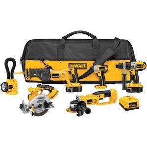 DEWALT-DCK655X-18-Volt-XRP-6-Tool-Combo-Kit-with-Impact-Driver