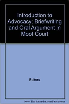 Architectural brief writing and oral argument