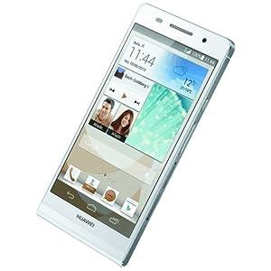 Huawei P7 Smartphone 5 pouces 4G Appareil photo 13MP USB NFC Wi-Fi Android 4.4 KitKat 16 Go Blanc