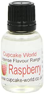 Cupcake World Intense Food Flavouring Raspberry 28.5 ml (Pack of 2)
