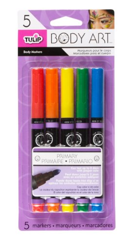 tulip-5-pack-body-art-primary-markers