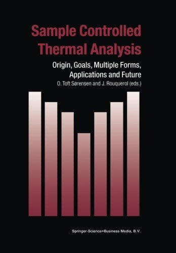 Sample Controlled Thermal Analysis: Origin, Goals, Multiple Forms, Applications and Future (Hot Topics in Thermal Analys