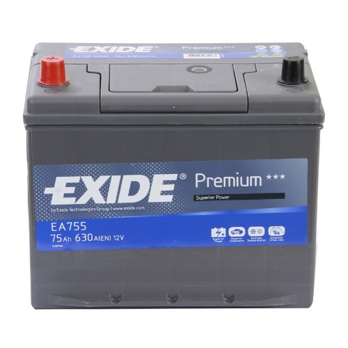 Exide Premium Superior Power EA755 75Ah Autobatterie