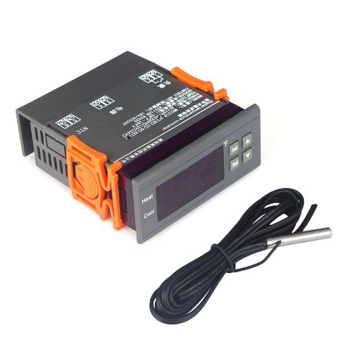 Docooler® Digital Temperature Controller Thermocouple with Sensor (-58~194°F) 10A 110V (Refrigerator Digital Thermostat compare prices)