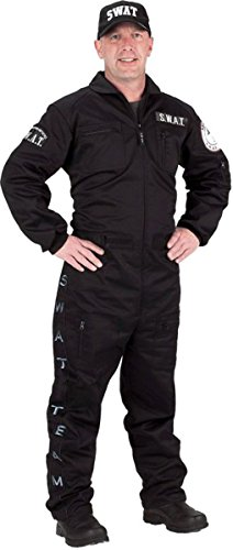 Morris Costumes Men's Swat Police Costume