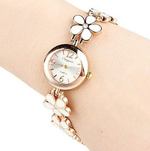 Quartz Movement Brass Strap Lady'S Girl'S Watch Wristwatch Valentine'S Day Gift