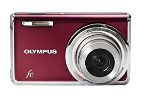 Olympus FE-5020 12MP Digital Camera with 5x Wide Angle Optical Zoom and 2.7 inch LCD (Wine Red)