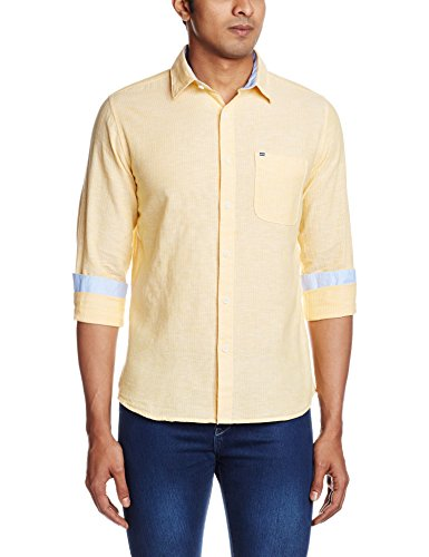 Pepe-Jeans-Mens-Casual-Shirt-8903872740772ADONIS-LSLYELLOW