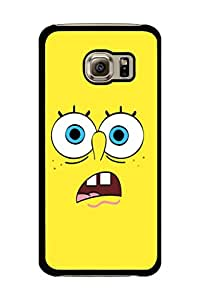 Caseque Crude SpongeBob Back Shell Case Cover For Samsung Galaxy S6 Edge
