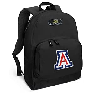University of Arizona Backpack Black Arizona Wildcats for Travel or School Bags - BEST QUALITY Unique Gifts For Boys, Girls, Adults, College Students, Men or Ladies