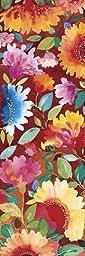 12W x 36H Dahlia I by Kim Parker - Stretched Canvas w/ BRUSHSTROKES