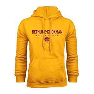 Bethune Cookman Champion Gold Fleece Hood-Small, Volleyball