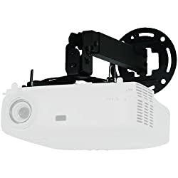 Projector Ceiling/wall Mount 17.2IN-25.2IN Adjustable Extension (Black)