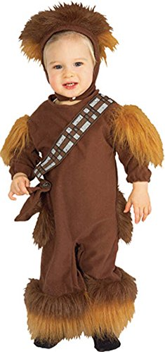 Baby Boys - Chewbacca Toddler Costume Sz 1 To 2 Halloween Costume