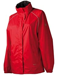 Agu Shinta Women's Raincoat L Red