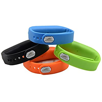 Forestfish(TM) Bluetooth Sync Smart Bracelet Sports Fitness Tracker Smart Wristband Water Resistant Tracker Bracelet Sleep Monitoring Anti-lost Smart Watch from TOP-A
