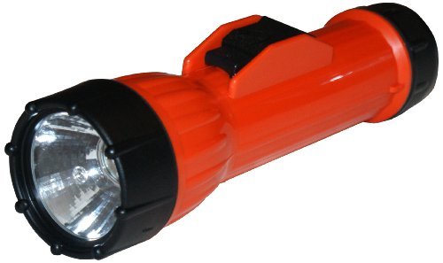 Bright Star 2217Led Worksafe 2D-Cell Led Intrinsic Flashlight With 'S' Biner, 40 Lumens, 88M Beam Distance, 200 Hours Run Time