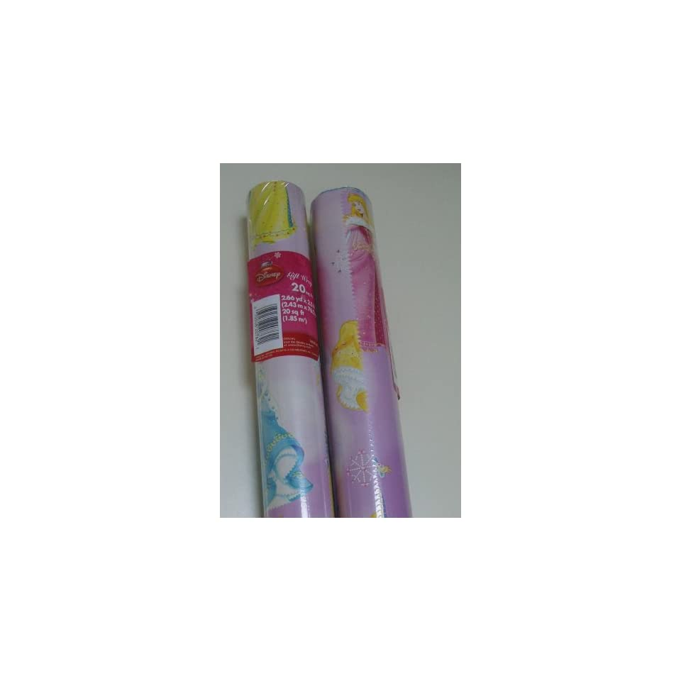 Disney Princess Christmas Wrapping Paper   One Roll