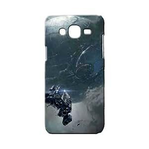 BLUEDIO Designer 3D Printed Back case cover for Samsung Galaxy A8 - G0258