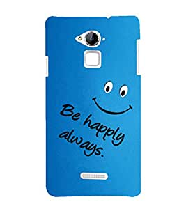 EPICCASE Be happy Mobile Back Case Cover For CoolPad Note 3 (Designer Case)