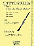 Artistic Studies Book 1 from The French School - Clarinet - 40 studies/32 etudes/9 caprices