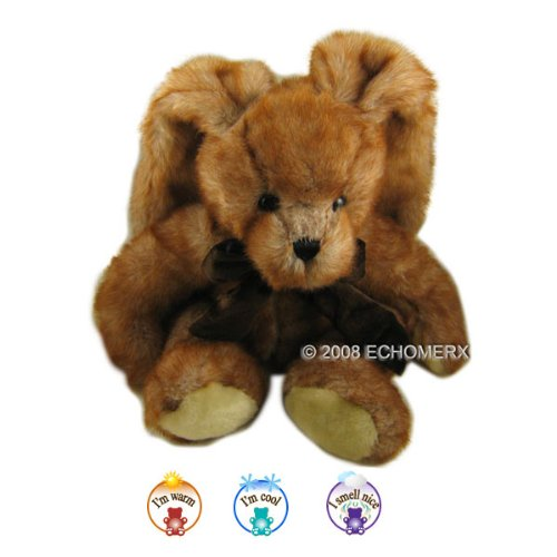 Aroma Brown Bunny - Aromatherapy Stuffed Animal - Hot And Cold Therapy