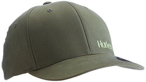 Hurley, Cappellino con visiera Uomo Corp, Verde (Carbon Green), S/M