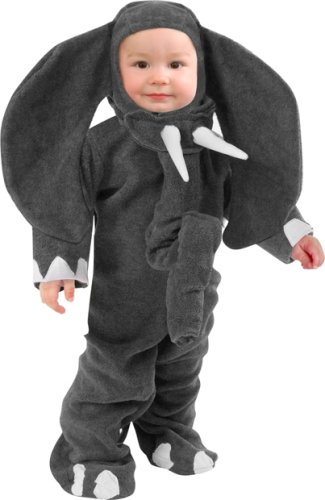 Child's Toddler Plush Elephant Animal Costume (2-4T)