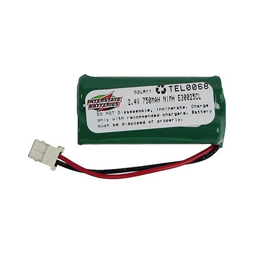 interstate all battery ctr tel0068 2.4V, 750Mah, Ni-Mh Cordless Telephone Battery