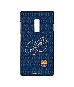 AUTOGRAPH NEYMAR Phone Cover for Oneplus Two by Block Print Company