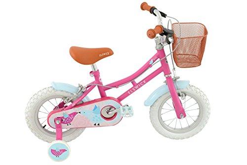 Elswick Misty - Bicicleta infantil, color rosa / azul, talla 2.5 - 4 años