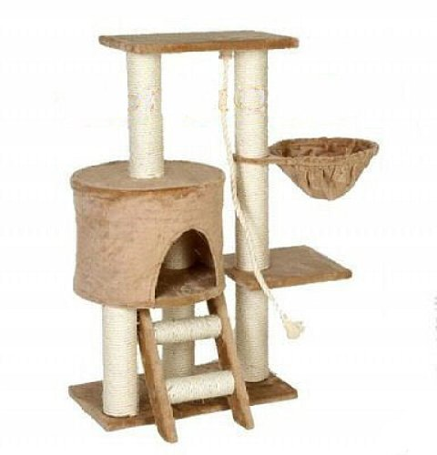 Go Pet Club Cat Tree Beige Color Go Pet Club B0014E3MGK