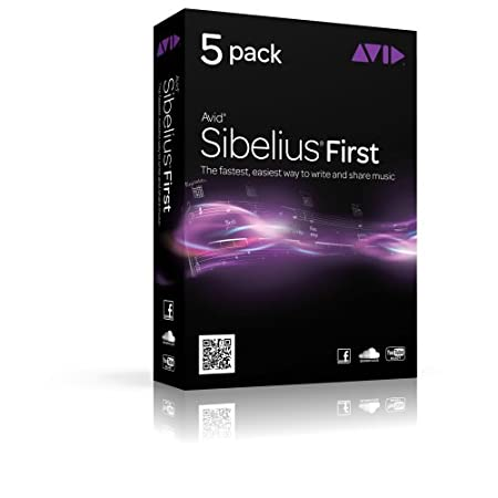 Avid Sibelius First - Version 7 (5-Pack) (PC/Mac)