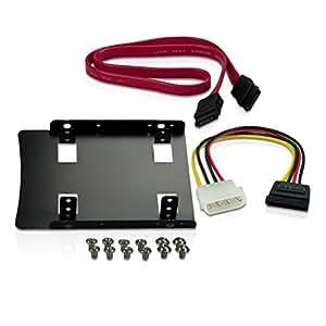 CN Memory Einbau-Kit für interne SSD inkl. Einbaurahmen für 6,4 cm (2,5 Zoll)