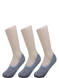 10STAR11 Women's 3,5,8 Pack High Quality Durable Non Slip Heel No Show Liner Socks