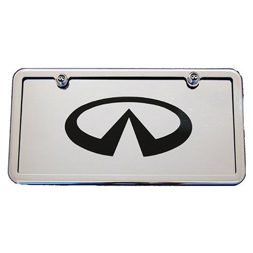 infiniti-g35-g37-m35-m45-ex35-fx35-fx50-qx56-front-license-plate-frame-tag-chrome