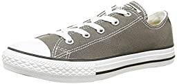 Converse Unisex Child Infant All Star Ox - Charcoal - 6