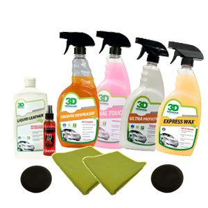 Auto Detailing Kit 2 by 3D Car Care Products