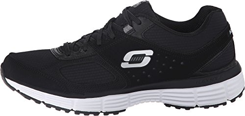 SKECHERS Women's Agility - Ramp Up Black/Charcoal Sneaker 8.5 B (M)
