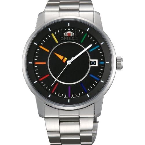 [オリエント]ORIENT 腕時計 STYLISH AND SMART DISK スタイリッシュ アンド スマート ディスク RAINBOW レインボー 自動巻き WV0761ER メンズ