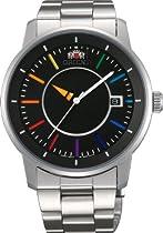 [Orient] Orient Watch Stylish and Smart Disk Stylish and Smart Disk Rainbow Rainbow Self-winding Wv0761er Men