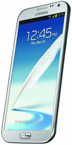Samsung Galaxy Note II, White (Verizon Wireless)
