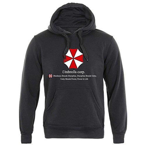 Umbrella Corp - Resident Evil Felpa con cappuccio (S-3 X L) Capcom Movie T Virus alveare Black L