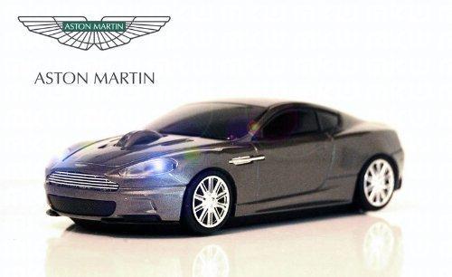Aston Martin DBS Wireless Auto-Mouse (Grigio) Senza fili ottico
