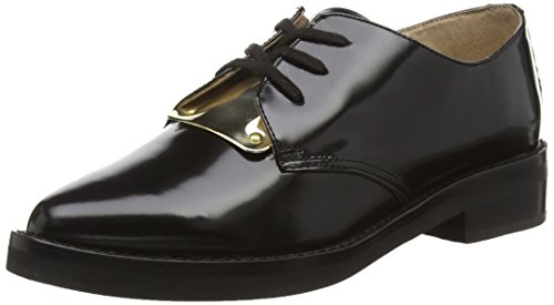 French Connection MAEKO, Scarpe Derby con lacci donna, Nero (Nero (black 1000)), 41